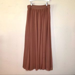 ANTHROPOLOGY edme & esyllte womans long skirt
